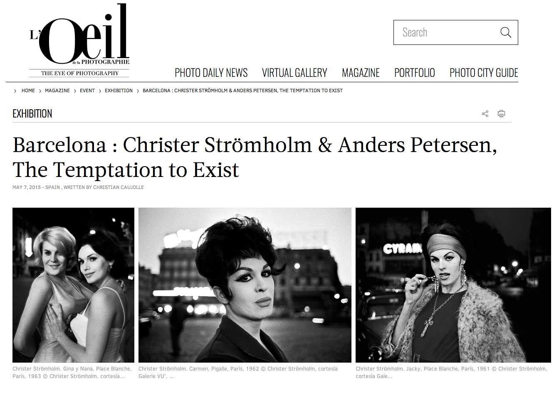 Anders Petersen och Christer Strömholm